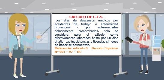 CALCULO DE CTS.