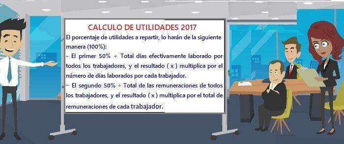 CALCULO DE UTILIDADES1